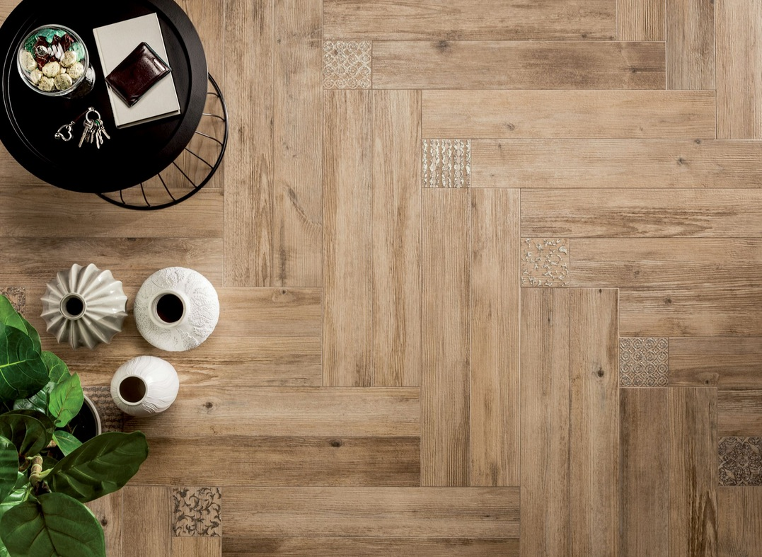 wood look tiles - Hardwood Floor Design Ideas