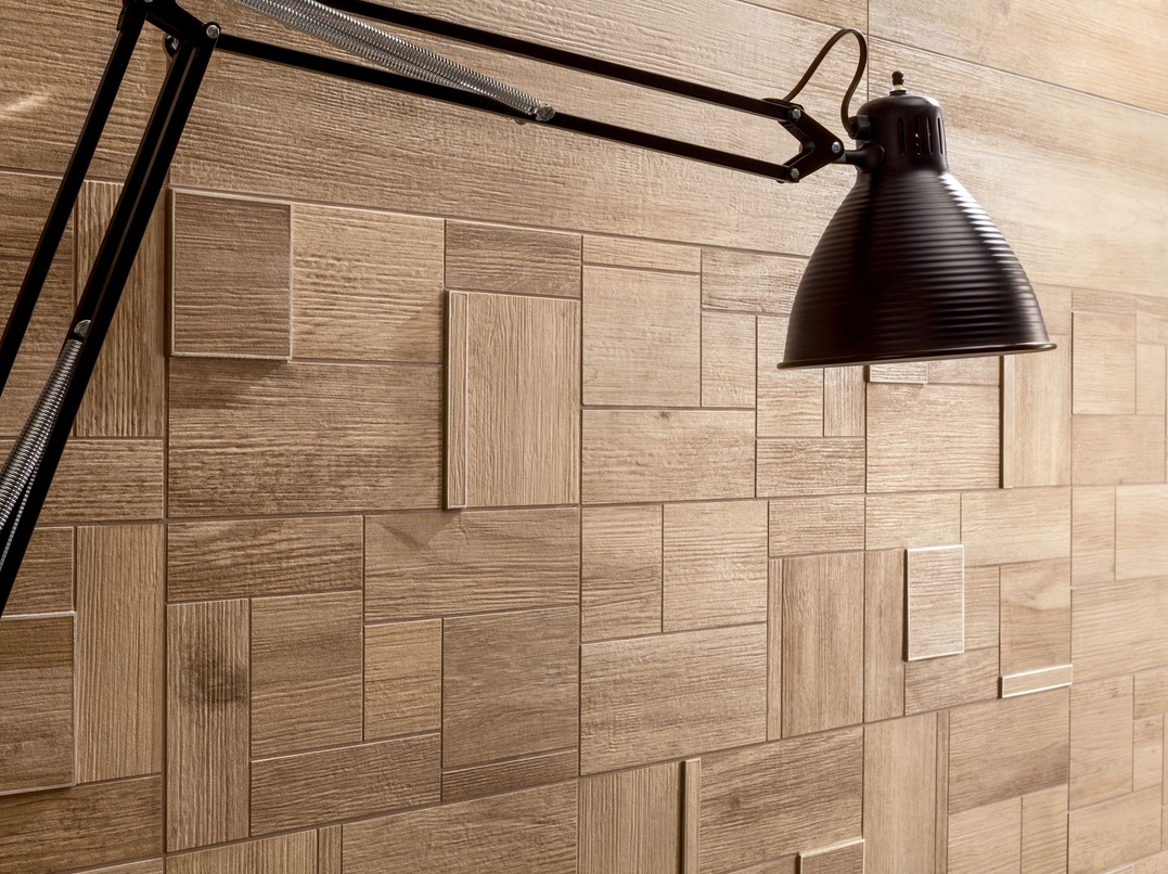 Wood Wall Design Wood Look Tiles