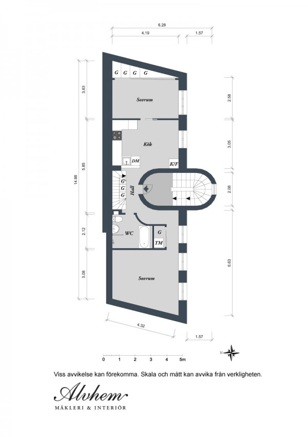 r Urban Apartment with Terrrace- Plans