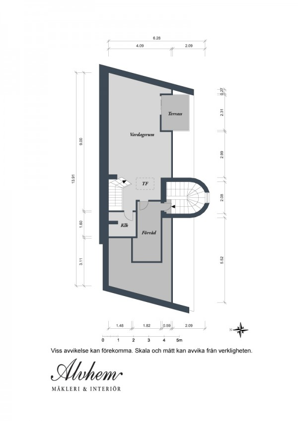 s Urban Apartment with Terrrace- Plans