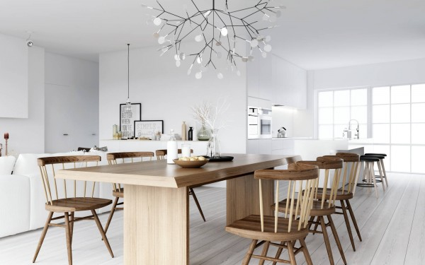 ATDesign- wooden dining nordic style