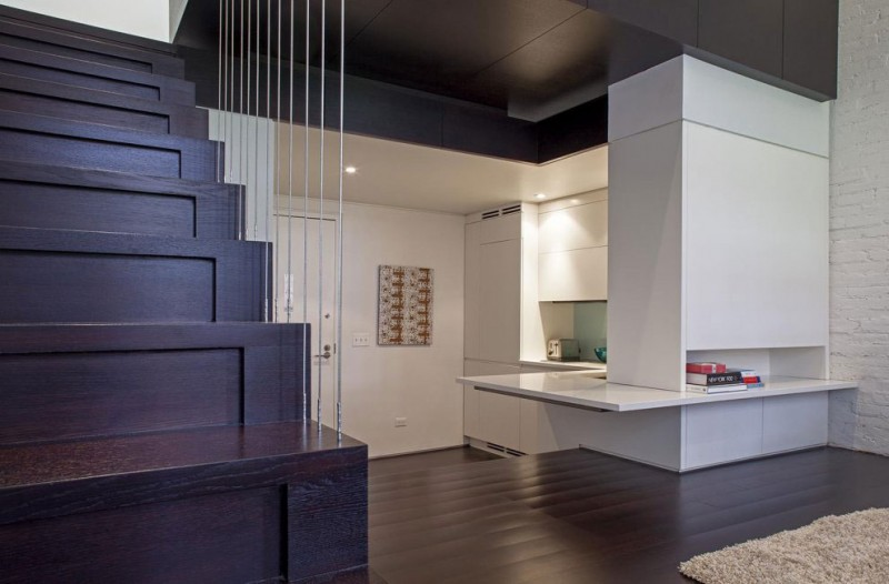 Manhattan Micro Loft Corner Kitchen - Perfectly planned pied terre