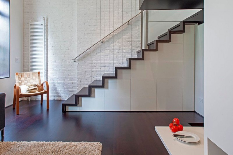Manhattan Micro Loft Storage Stairs To Living - Perfectly planned pied terre
