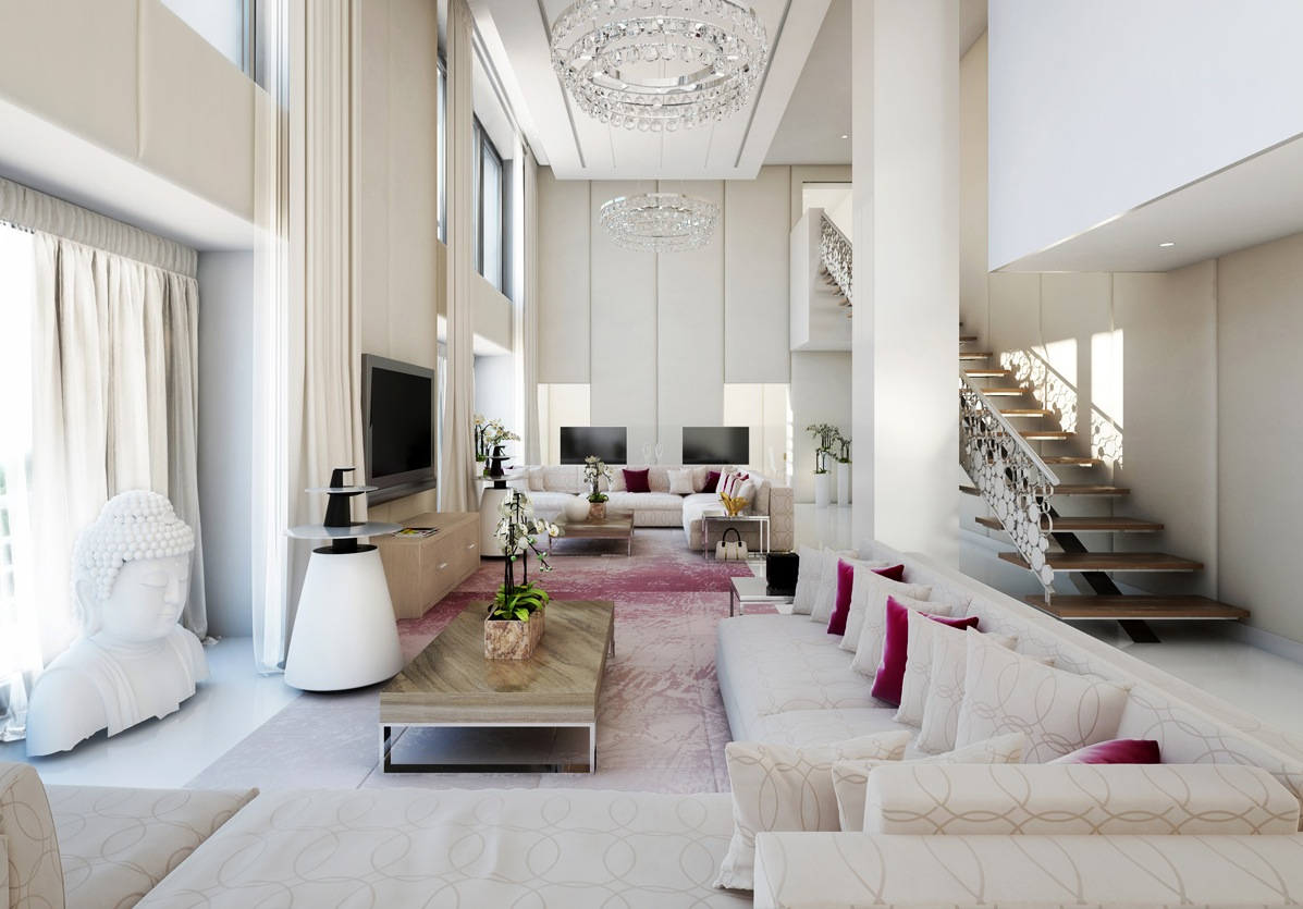 Living rooms alive with inspiration Pictures of white living rooms