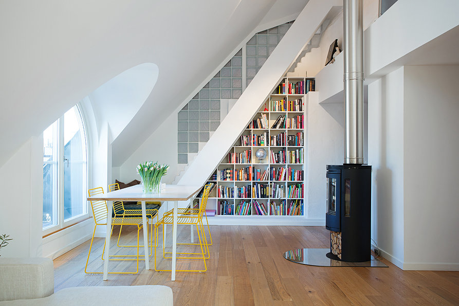 1920's Tenant House Goes Swedish Modern