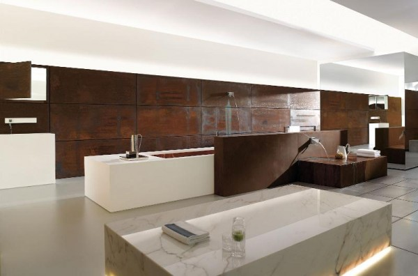 Modern Natural Bath Fittings & Accessories Bathroom 2