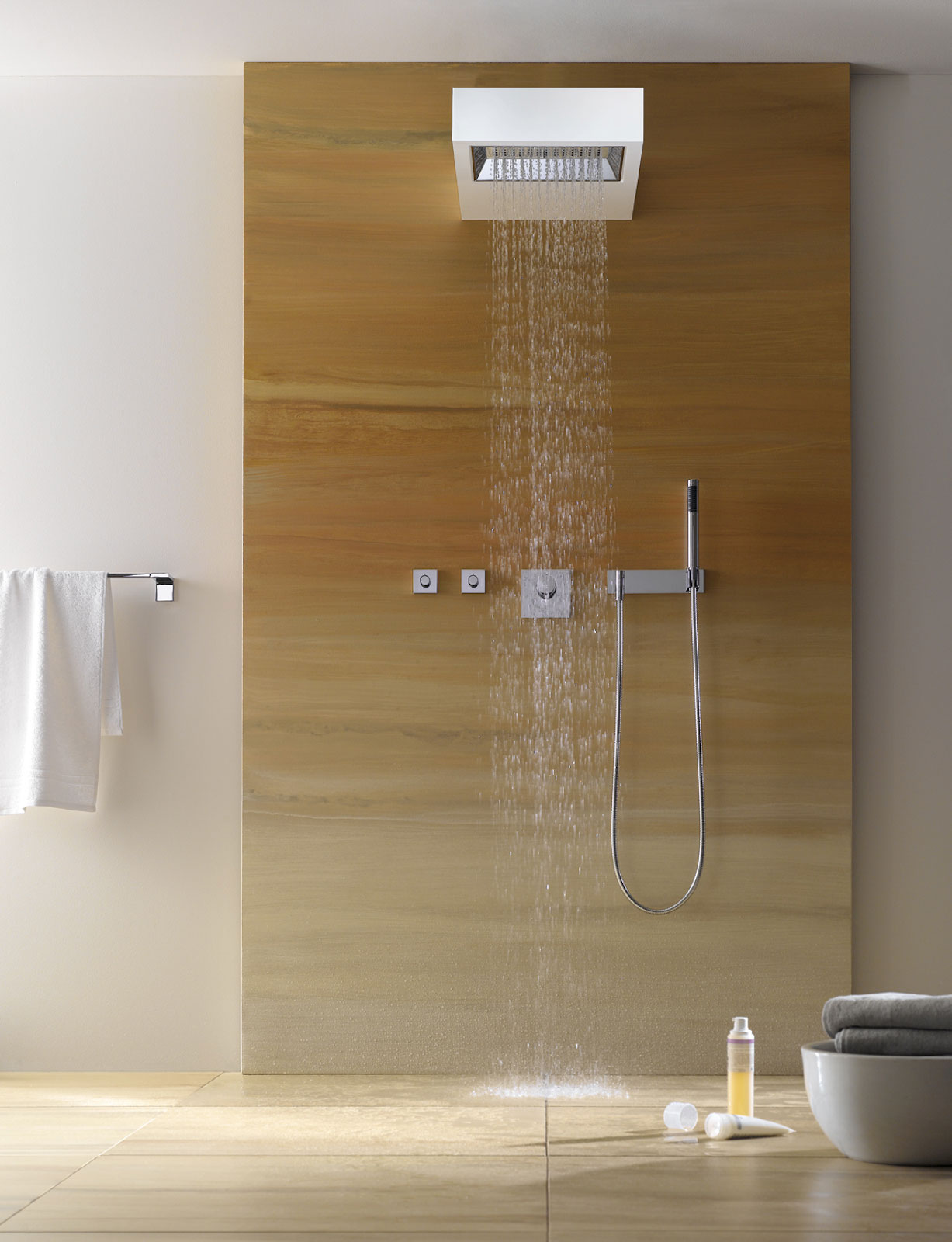 Bath fittings accessories from dornbracht for Salle de douche deco