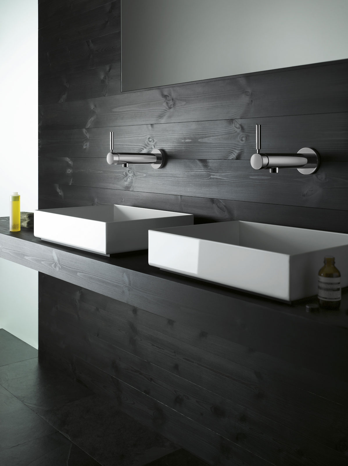 Modern natural bath fittings accessories sinks for Contemporary bathroom accessories