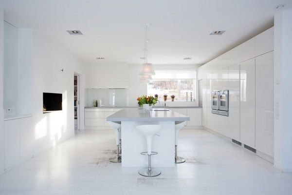 Modern Swedish Villa Kitchen 1