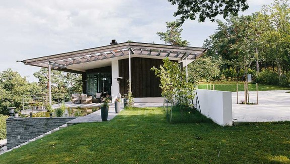 Exotic Villa on the Swedish Island of Lidingo