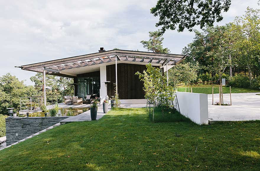 Exotic Villa on Swedish Island Lidingo