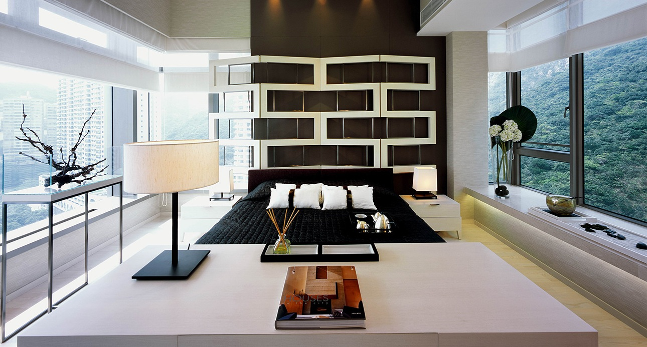 Synergistic modern spaces by steve leung for Modern house interior design bedroom