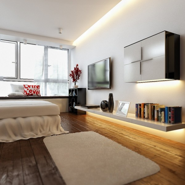 contemporary bedroom 14