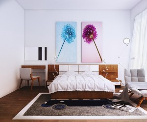 contemporary bedroom 3
