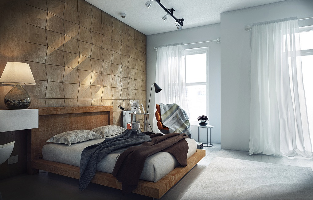Contemporary bedrooms by koj for Modern bed images