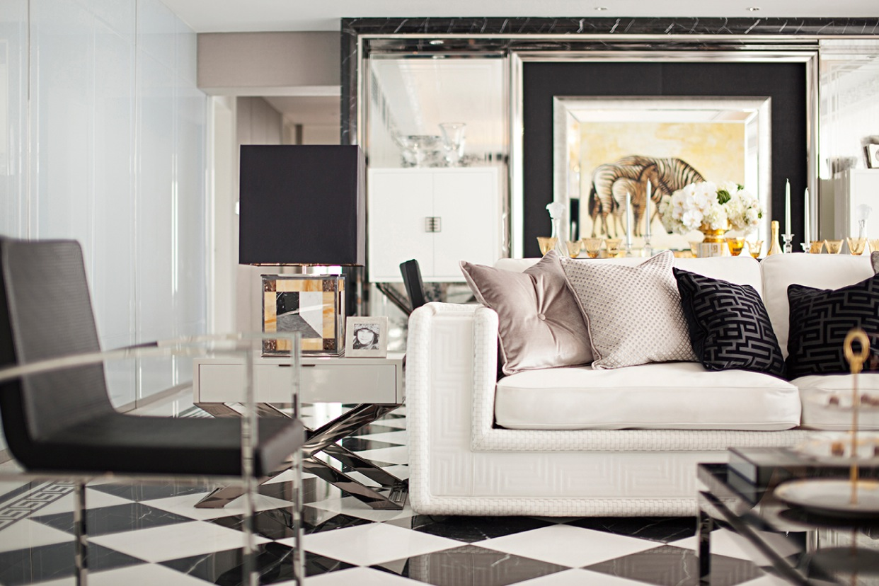 Modern Living Space - Synergistic modern spaces by steve leung