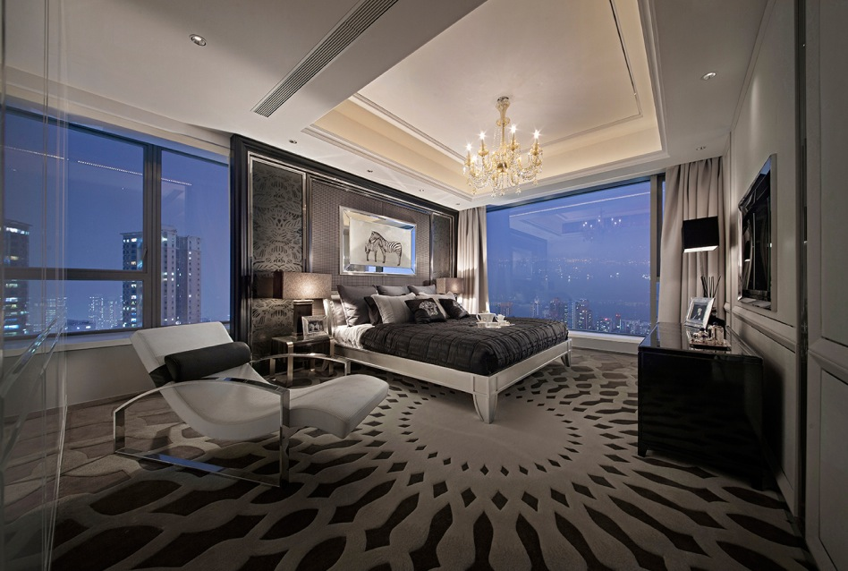 Synergistic modern spaces by steve leung for Luxury master bedroom designs