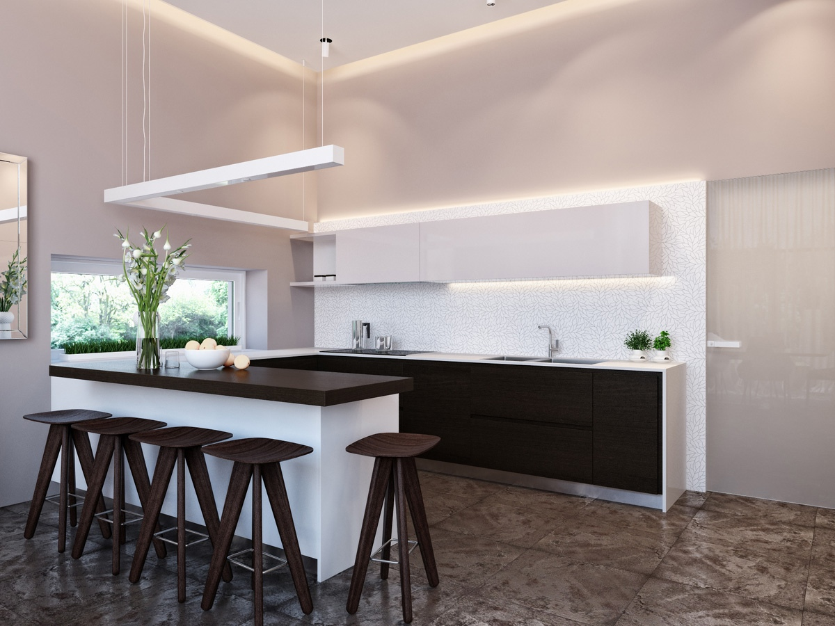 5 City At Dusk in addition Atdesign Nordic Style Minimalist Kitchen In White together with Dark Bedroom Design 2 in addition Put Your Bathroom On A Pedestal as well Chic Studio Apartment. on mission style bathroom ideas