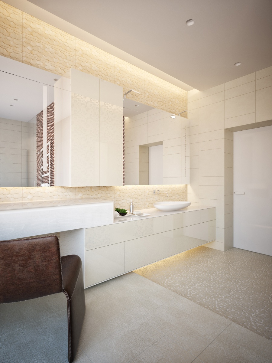 Modern master bathroom interior design - Modern Neutral Master Bathroom 3 Interior Design Ideas