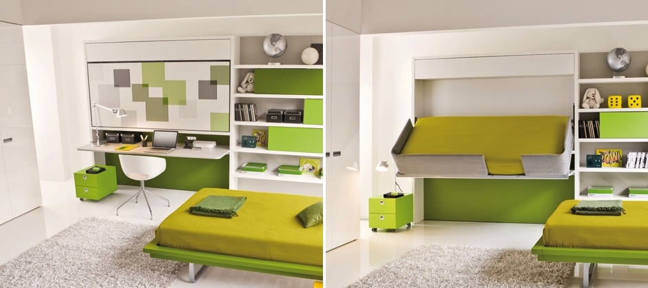 Mulitpurpose Furniture Office + Bed - Multipurpose furniture for modern spaces