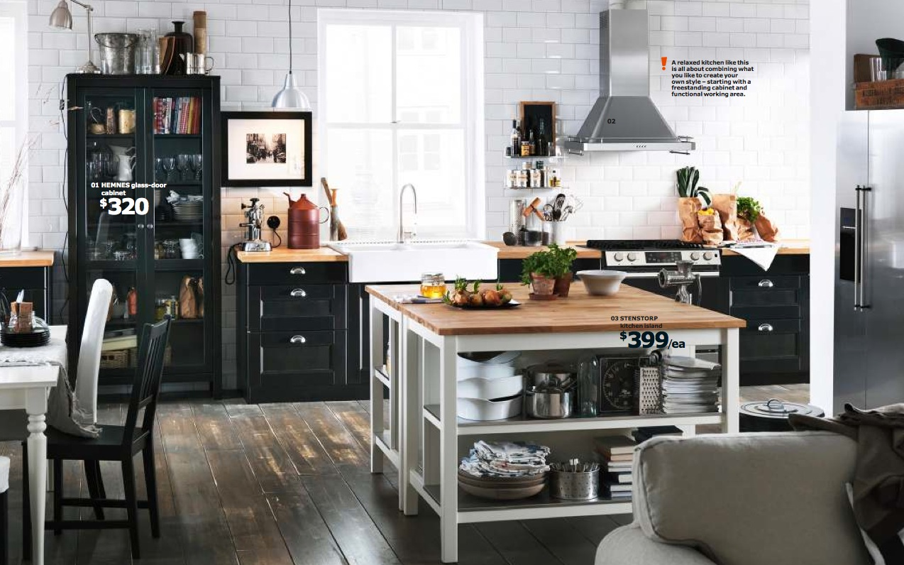 Ikea 2014 catalog full for Kitchen cabinets ikea