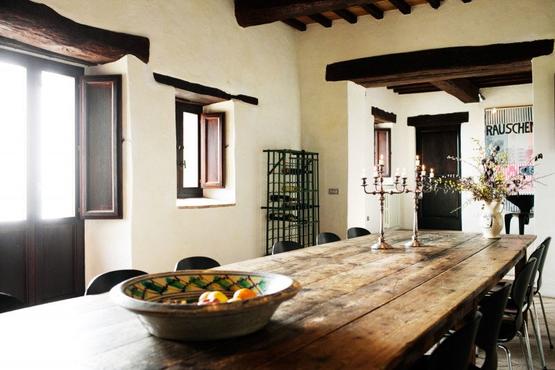 Casa bramasole yet another stunning umbrian villa for Italian decorations for home