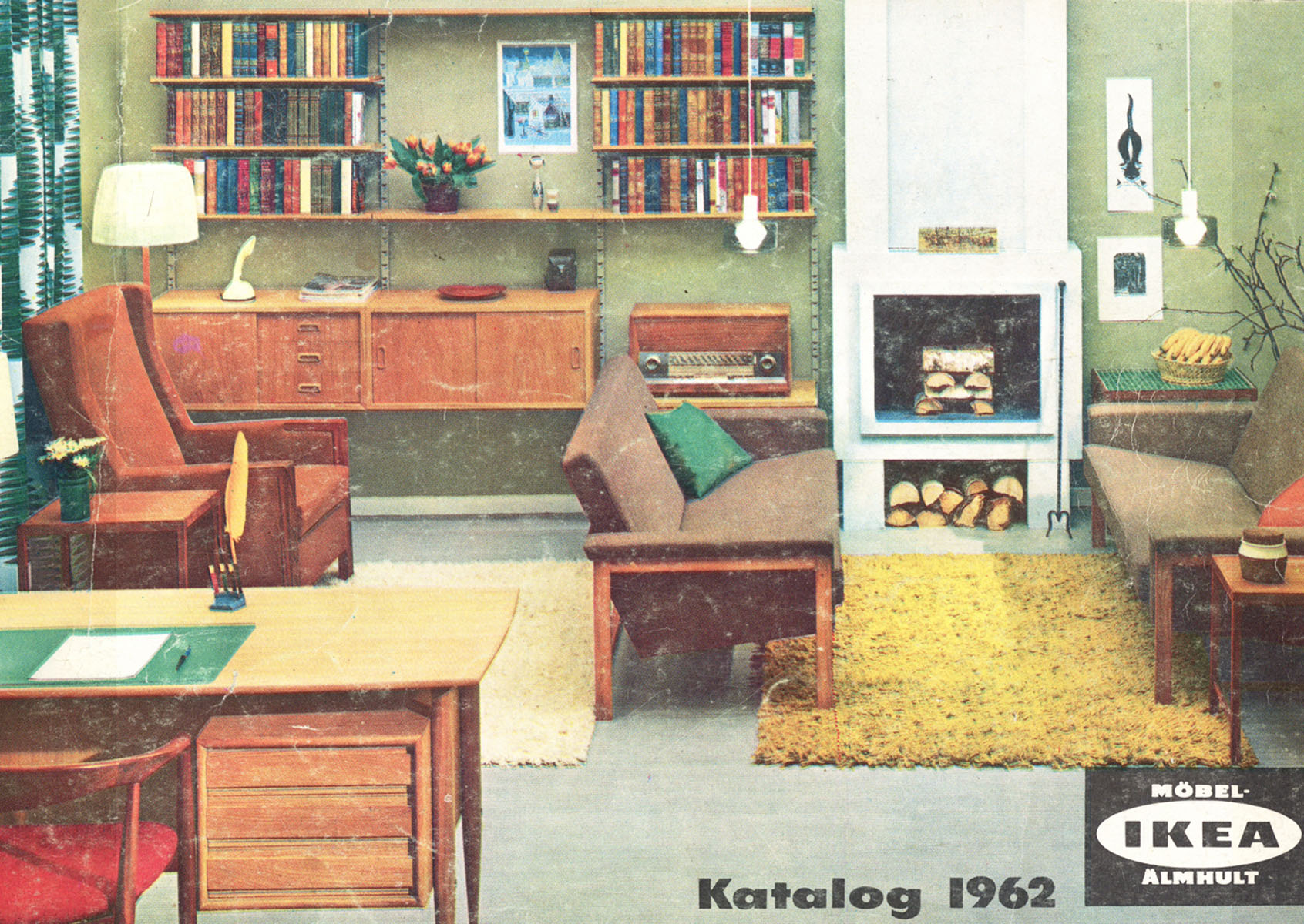 Ikea catalog covers from 1951 2018 for Home decor furniture catalog