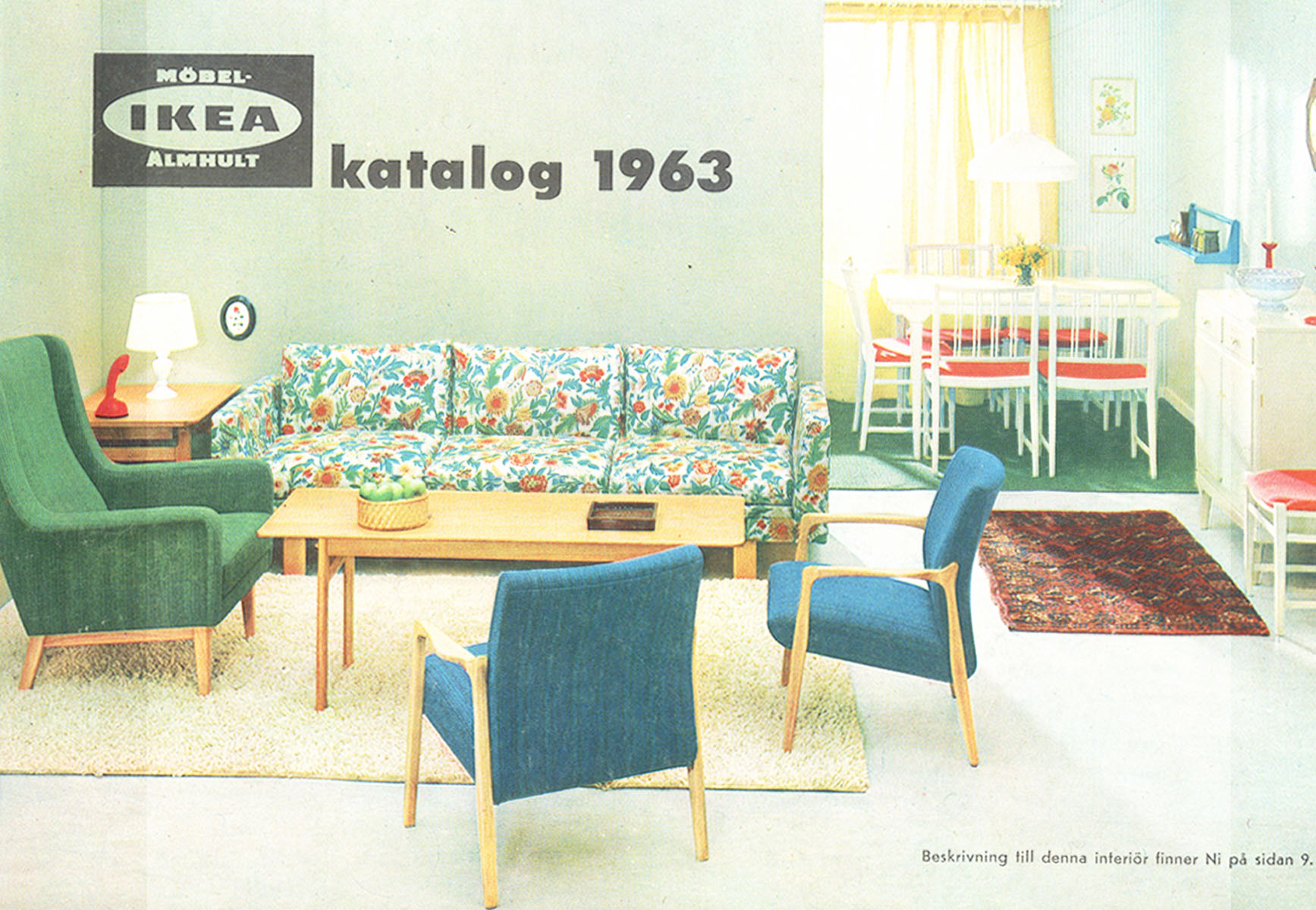 Ikea 1963 catalog interior design ideas for Home interior decorating catalogs