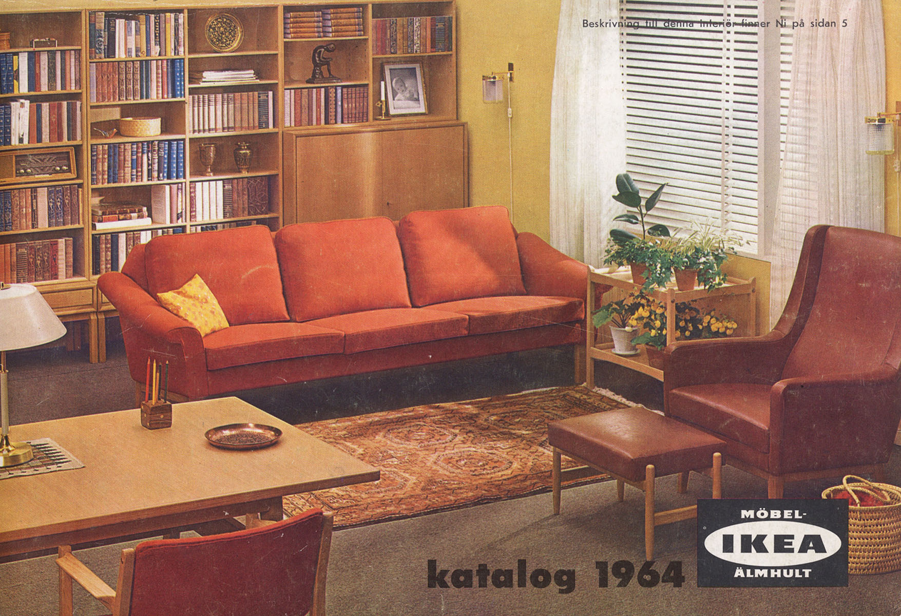 Ikea catalog covers from 1951 2015 Home style furniture catalogue