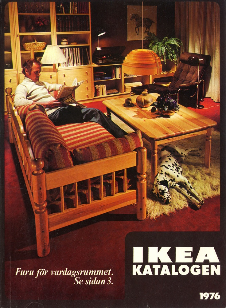 Ikea 1976 catalog interior design ideas for Furniture catalogue