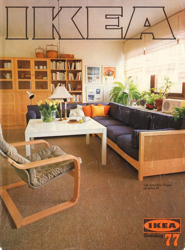 Ikea 1977 Catalog Interior Design Ideas