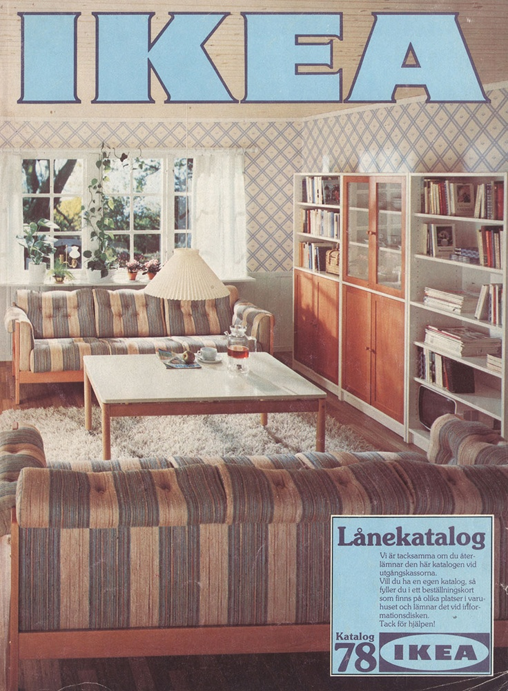 Ikea 1978 Catalog Interior Design Ideas