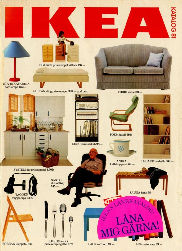 ikea catalog covers from 1951 2015. Black Bedroom Furniture Sets. Home Design Ideas