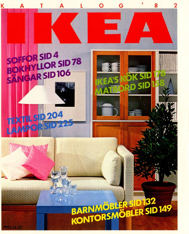 IKEA 1982 Catalog | Interior Design Ideas.