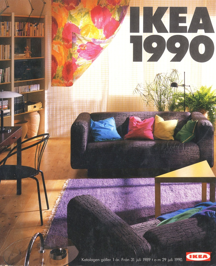 Ikea 1990 Catalog Interior Design Ideas