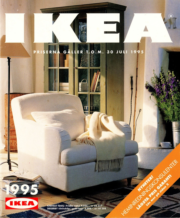 Ikea 1995 Catalog Interior Design Ideas