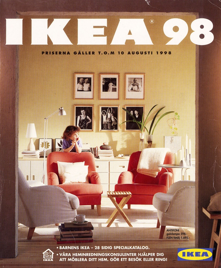Ikea 1998 catalog interior design ideas for Design house catalog