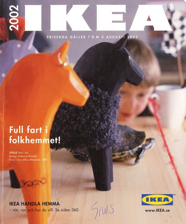 . IKEA Catalog Covers from 1951 2015