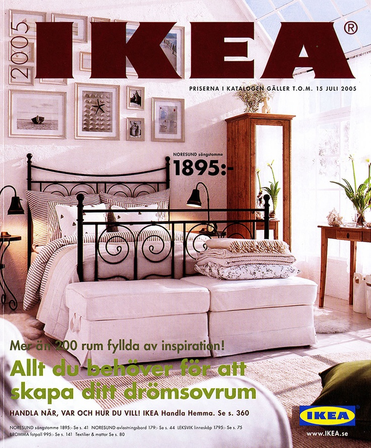 Ikea 2005 catalog interior design ideas for Design house catalog