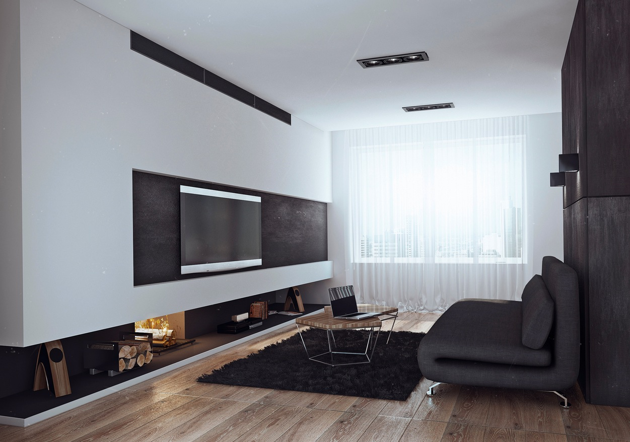 His And Hers Apartment Interior Design By Angelina Alexeeva [Visualized]