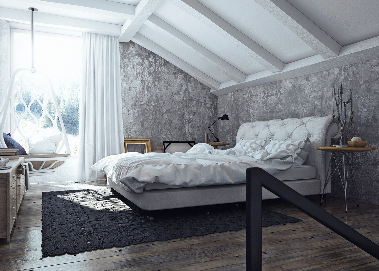 Apartment bedrooms tumblr - His And Hers Apartment Interior Design By Angelina Alexeeva Visualized