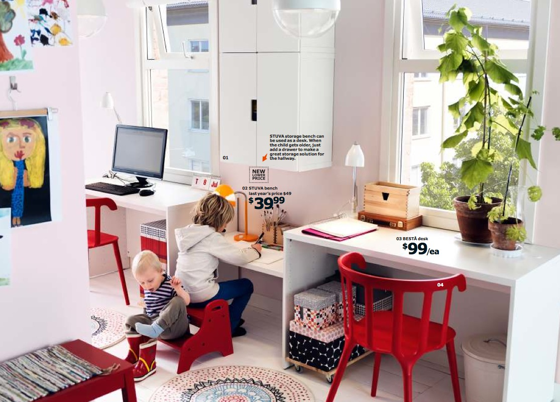 Ikea 2014 kids room interior design ideas - Ikea home interior design ...
