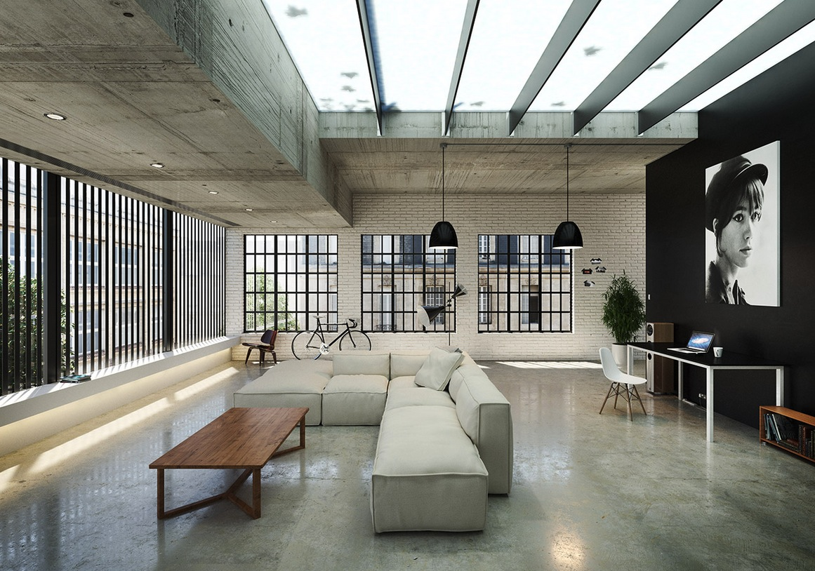 loft living | interior design ideas.