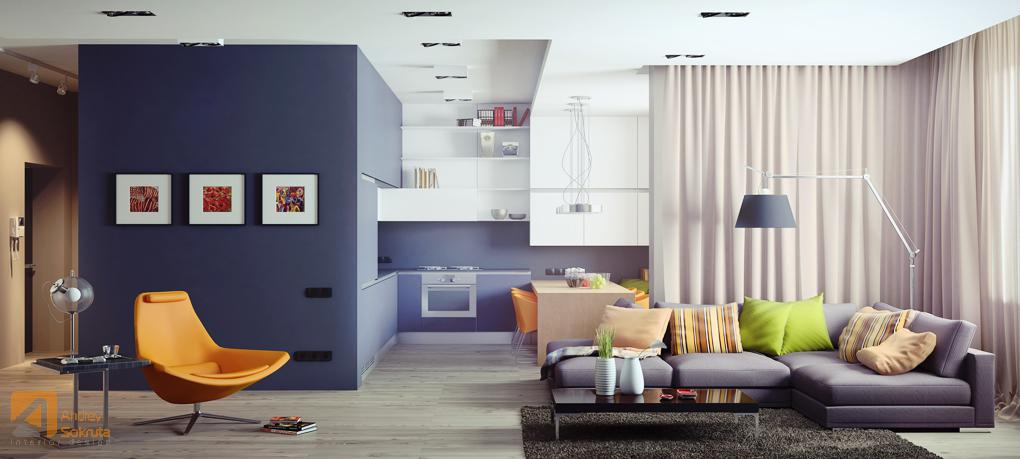 Modern Interior - Fresh modern designs from andrey sokruta