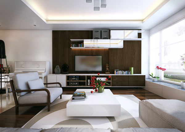 neutral modern apartment 1