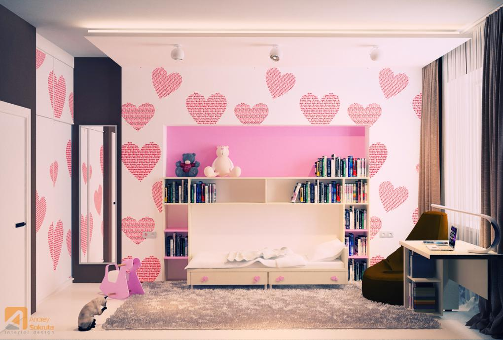 Pink Kids Room Designs - Fresh modern designs from andrey sokruta