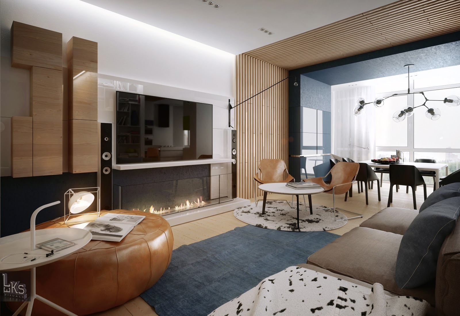 Ultra modern apartment interior design ideas for Modern style apartment