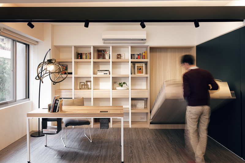 Small Home With Smart Use of Space, Taiwan