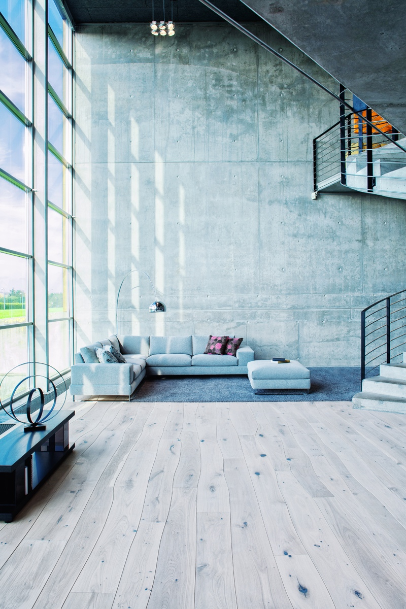 Bolefloor curved wood panels floors as nature intended for Industrial flooring for homes