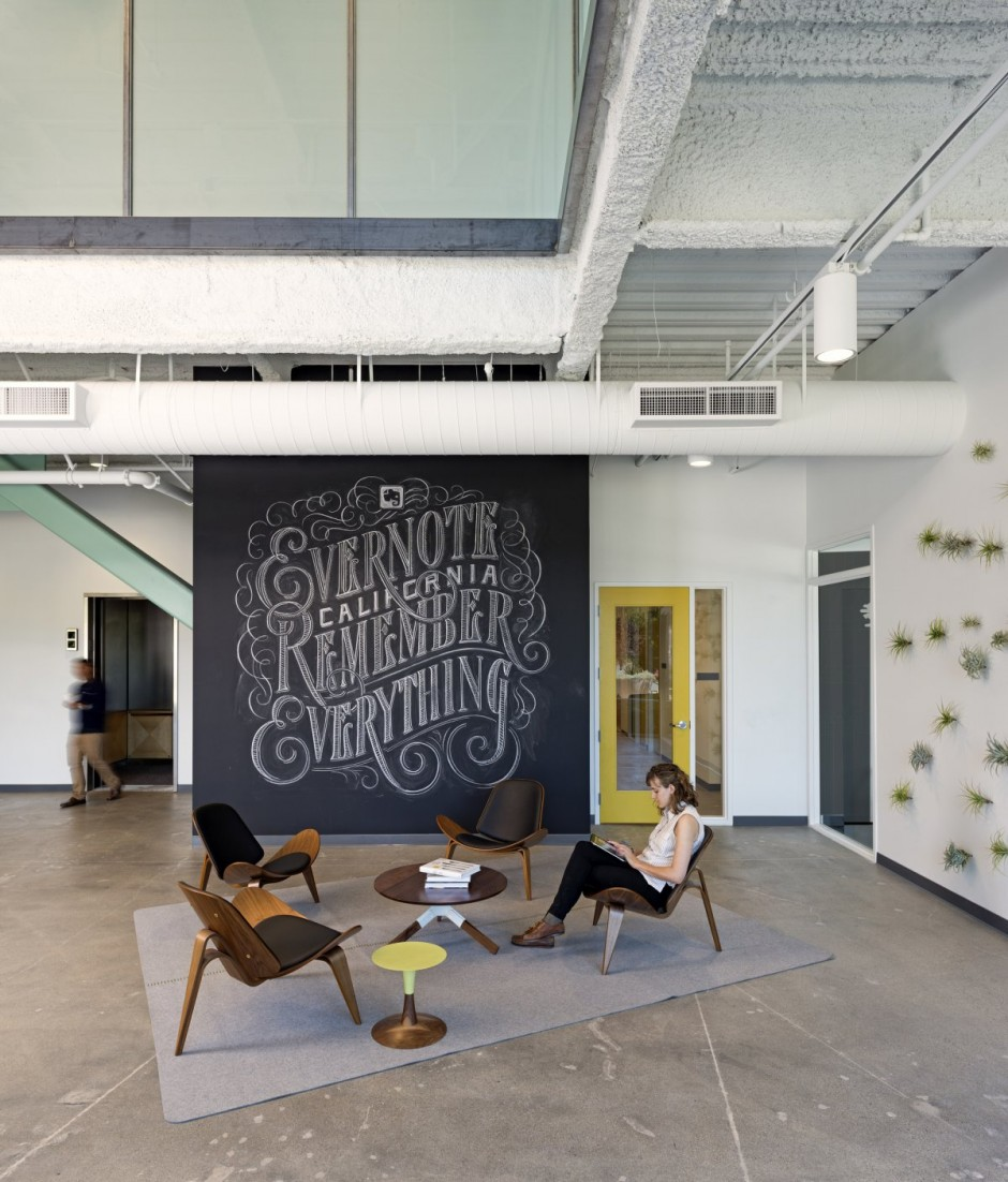 Comfortable Office Design - Evernote office interiors